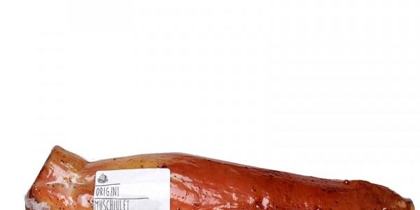 Muşchiuleţ de porc, copt şi afumat