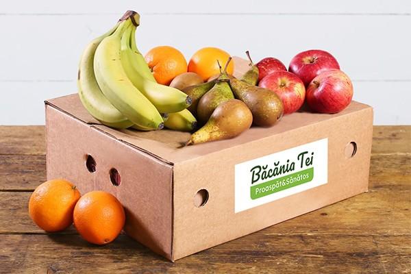 Lădiță Cu Fructe De Sezon (Mică) W24