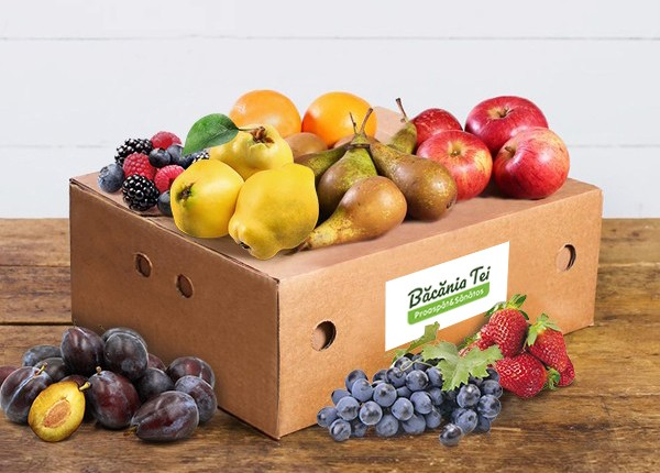 Lădiță Cu Fructe De Sezon (Mare) W37
