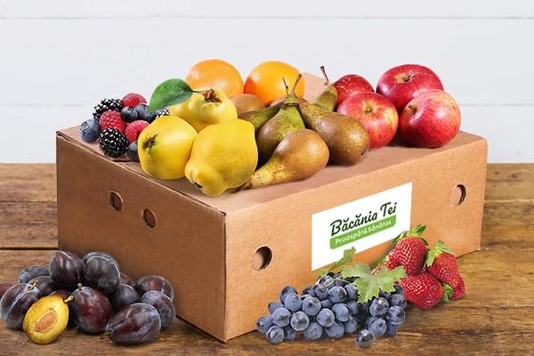 Lădiță Cu Fructe De Sezon (Mare) W42